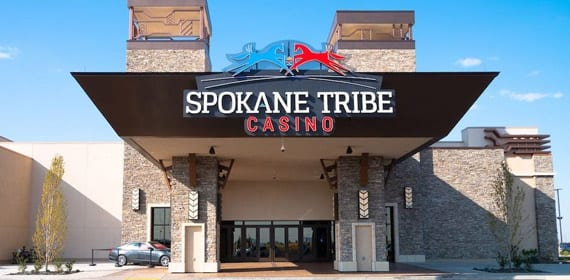 Spokane Tribe Casio entrance